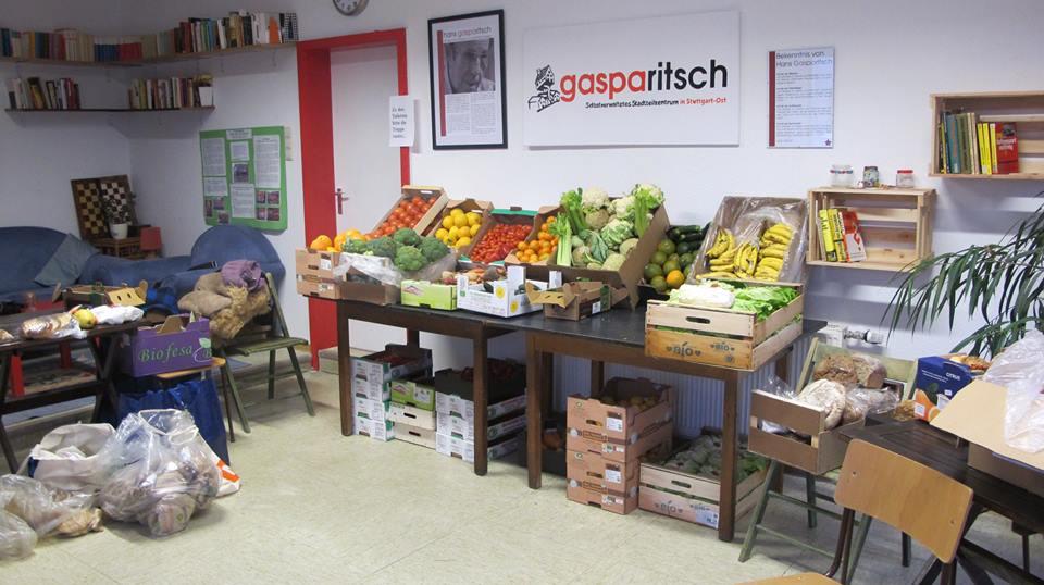 Unterstützung für Foodsharing / Gasparitsch Newsletter #4