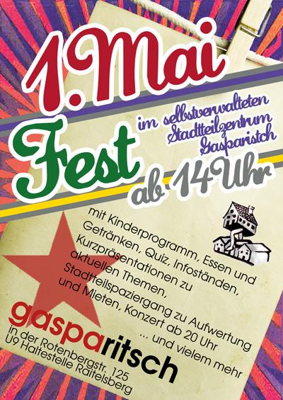 1. Mai Fest im Gasparitsch
