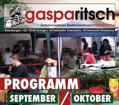 Programm September / Oktober
