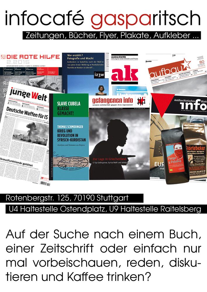 Infocafé Flyer