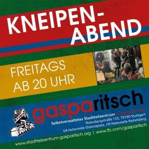 Kneipenabend @ Stadtteilzentrum Gasparitsch