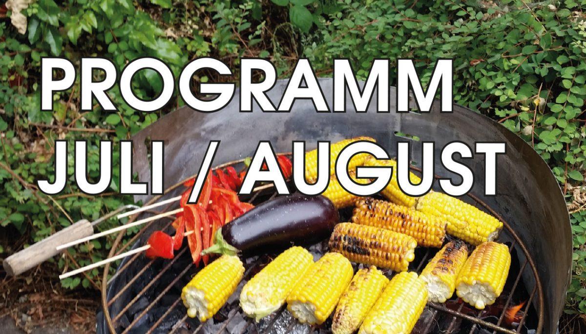 Programm Juli / August 2016