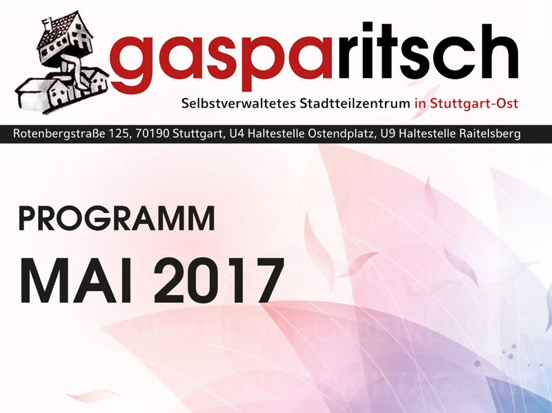 Programm Mai 2017