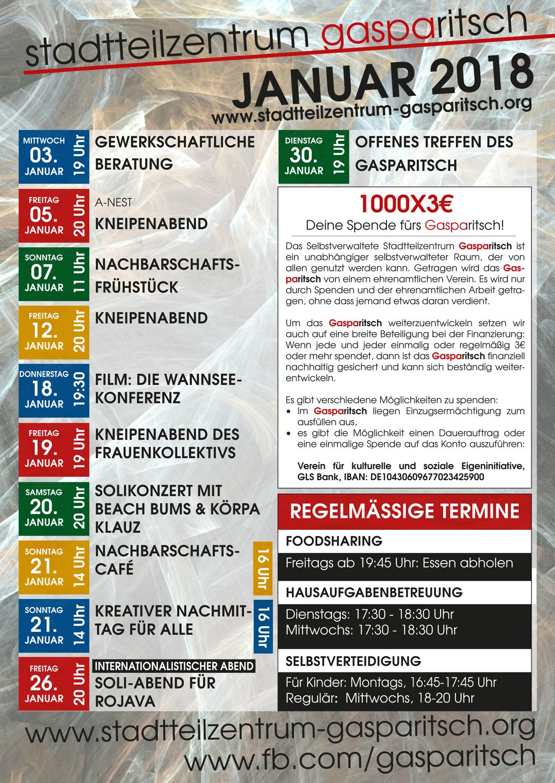 Januarprogramm 2018