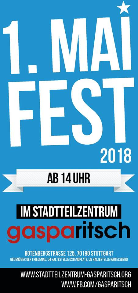 1. Mai Fest 2018
