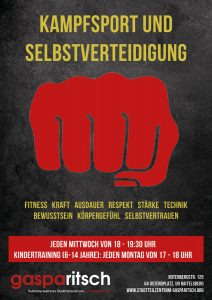 Kampfsport und Selbstverteidigung @ Stadtteilzentrum Gasparitsch