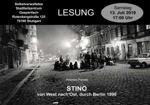 STINO - Von West nach Ost, durch Berlin 1990 @ Stadtteilzentrum Gasparitsch